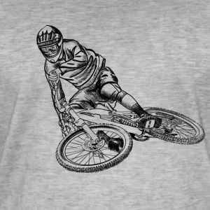 Mountainbike Tee shirts - T-shirt vintage Homme