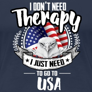 Therapy USA T-Shirts - Women's Premium T-Shirt