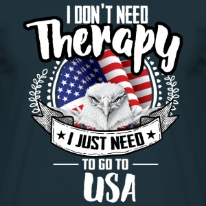 Therapy USA T-Shirts - Men's T-Shirt