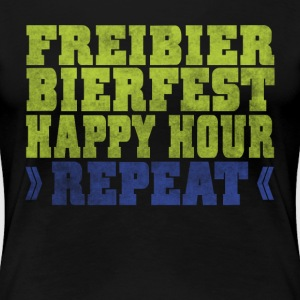 FREIBIER  REPEAT T-Shirts - Frauen Premium T-Shirt