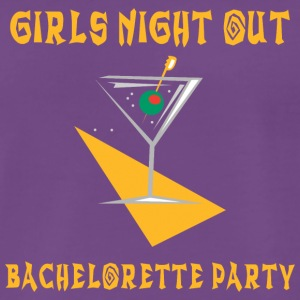 Bachelorette Party Girls Night Out - Men's Premium T-Shirt