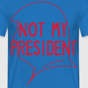 Fld.) Trump, USA: Not My President - Männer T-Shirt