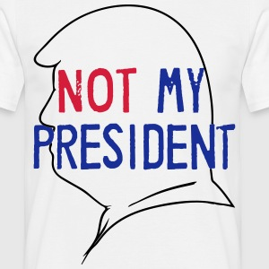 Fld.) United States of America: Not My President - Männer T-Shirt