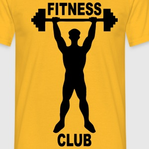 fitness club 02 Tee shirts - T-shirt Homme