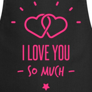 you & me forever - Cooking Apron