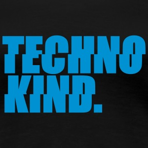 Techno Kind Rave Kultur Berlin Vinyl Progressive T-Shirts - Frauen Premium T-Shirt
