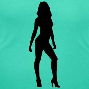 Sexy woman, model, girlfriend Tee shirts - T-shirt col rond U Femme
