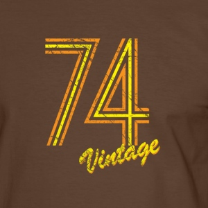74 vintage T-Shirts - Men's Ringer Shirt