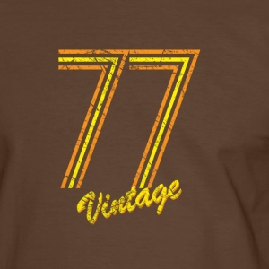 77 vintage T-Shirts - Men's Ringer Shirt