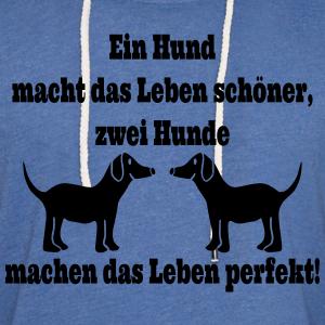"""Shirts mit Tier-Motiv """"Zwei Hunde Spruch"""""""