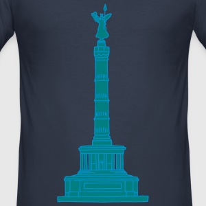 Berlin Victory Column 2 T-Shirts - Men's Slim Fit T-Shirt