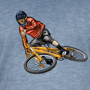 Mountainbike T-Shirts - Men's Vintage T-Shirt