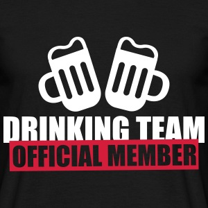 Drinking team official member - Männer T-Shirt