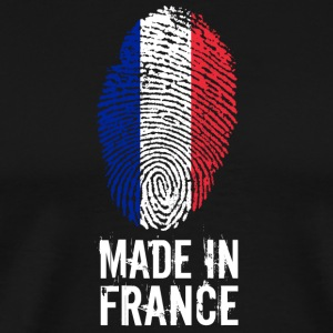 Made In France / Frankreich / République française - Männer Premium T-Shirt