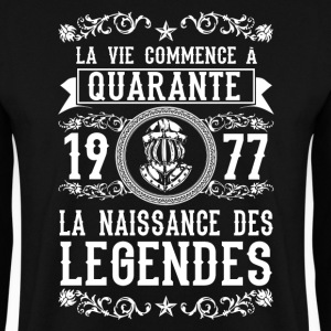 1977 - 40 ans - Légendes - 2017 Sweat-shirts - Sweat-shirt Homme