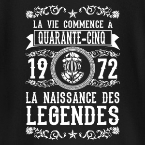 1972 - 45 ans - Légendes - 2017 Tee shirts manches longues Bébés - T-shirt manches longues Bébé