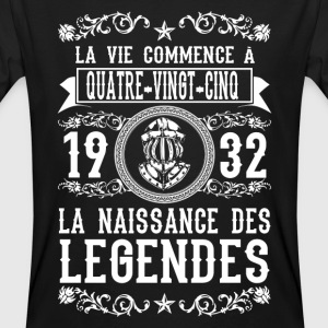 1932 - 85 ans - Légendes - 2017 Tee shirts - T-shirt bio Homme