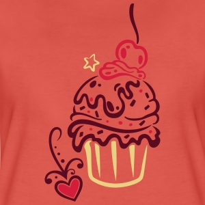 Muffin mit love T-Shirts - Frauen Premium T-Shirt