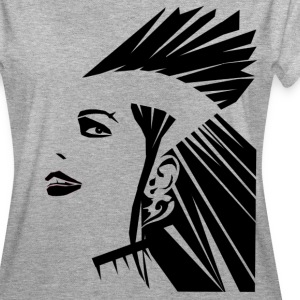 Punk Lady - Frauen Oversize T-Shirt