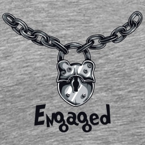 Engaged Chained - Men's Premium T-Shirt
