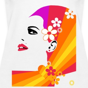 Flower Girl - Frauen Premium Tank Top