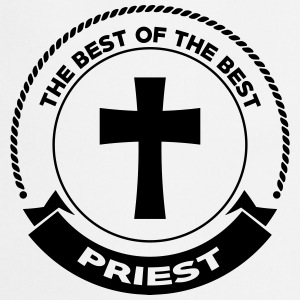 Priest Priester Prêtre Religion Cross Croix God  Aprons - Cooking Apron