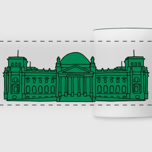 Reichstag building Berlin 2 Mugs & Drinkware - Panoramic Mug