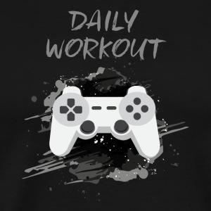 Videogame! Daily Workout! - Männer Premium T-Shirt
