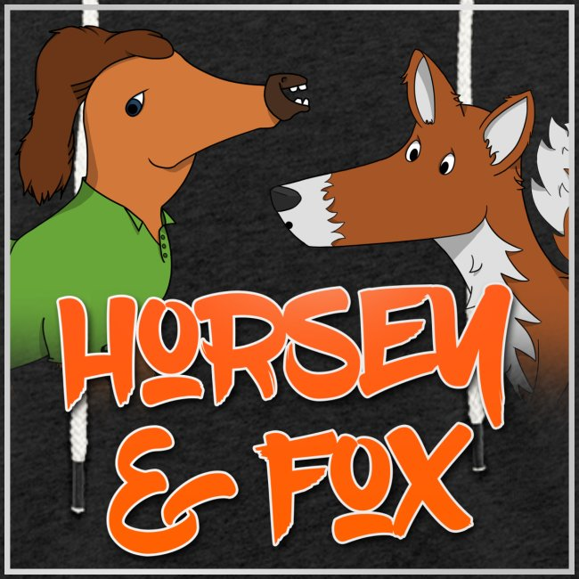Unisex Horsey & Fox Hoodie (2017 Design)