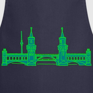 Oberbaum Bridge in Berlin 2  Aprons - Cooking Apron
