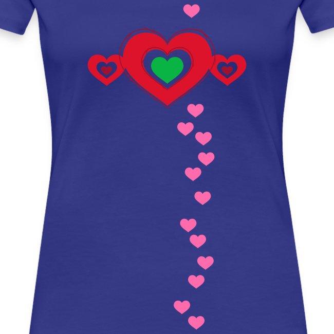 Herzen Valentinstag verliebt in Love Flirt Glück