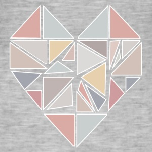 heart_origami T-Shirts - Men's Vintage T-Shirt