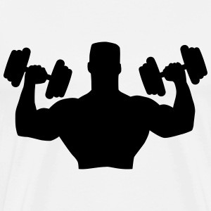 Muscle Man Training T-Shirts - Männer Premium T-Shirt