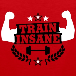 Train insane Sportbekleidung - Männer Premium Tank Top