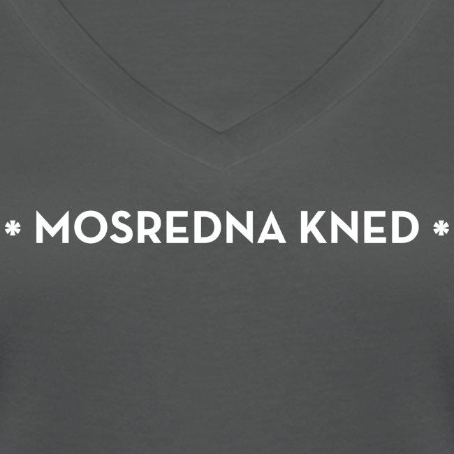 Mosredna vrouwen v-hals bio