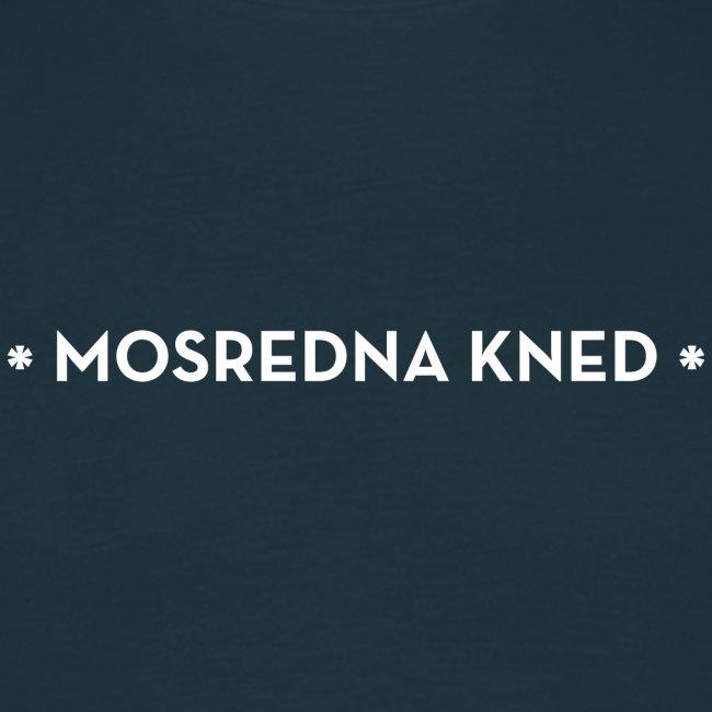 Mosredna mannen t-shirt