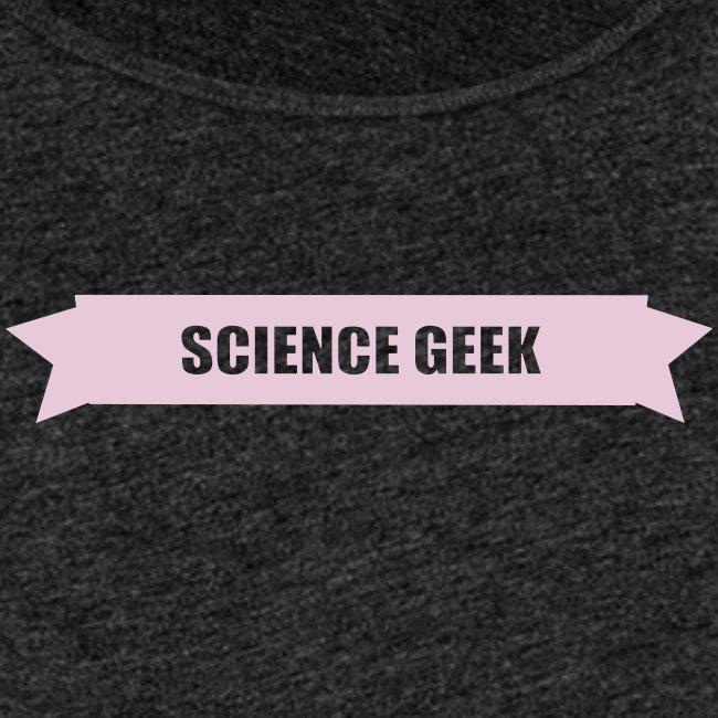 Débardeur femme Science Geek