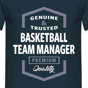 Basketball Team Manager Logo T-shirt - Men's T-Shirt