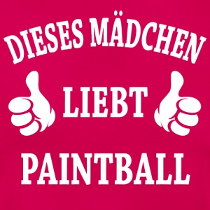 Paintball T-Shirts - Frauen T-Shirt