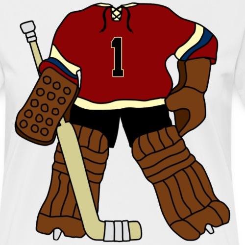 Vintage Ice Hockey Goalie