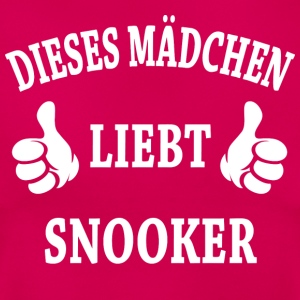 Snooker T-Shirts - Frauen T-Shirt