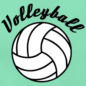 Volleyball Design T-Shirts - Women's T-Shirt