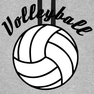 Volleyball Design Sweatshirts - Unisex baseball hoodie
