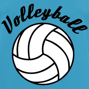Volleyball Design T-shirts - Andningsaktiv T-shirt herr
