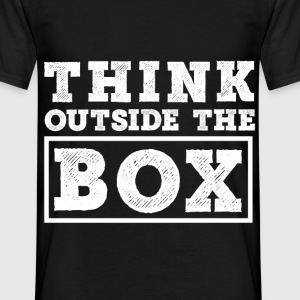 Think outside the Box Shirt - Männer T-Shirt