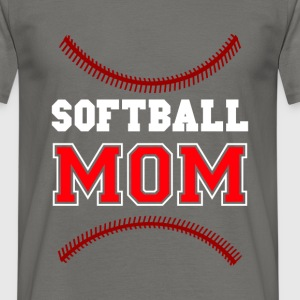 Softball Mom - Men's T-Shirt