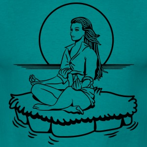 Island yoga relaxation T-Shirts - Men's T-Shirt
