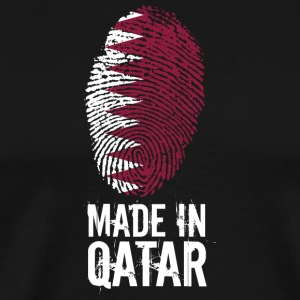 Made In Qatar / Katar / قطر - Männer Premium T-Shirt