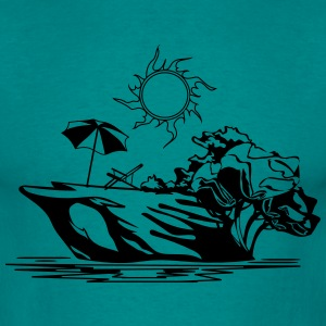 Island vacation sea sun relaxation T-Shirts - Men's T-Shirt