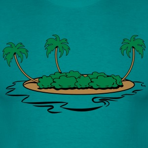 Island holiday sea T-Shirts - Men's T-Shirt